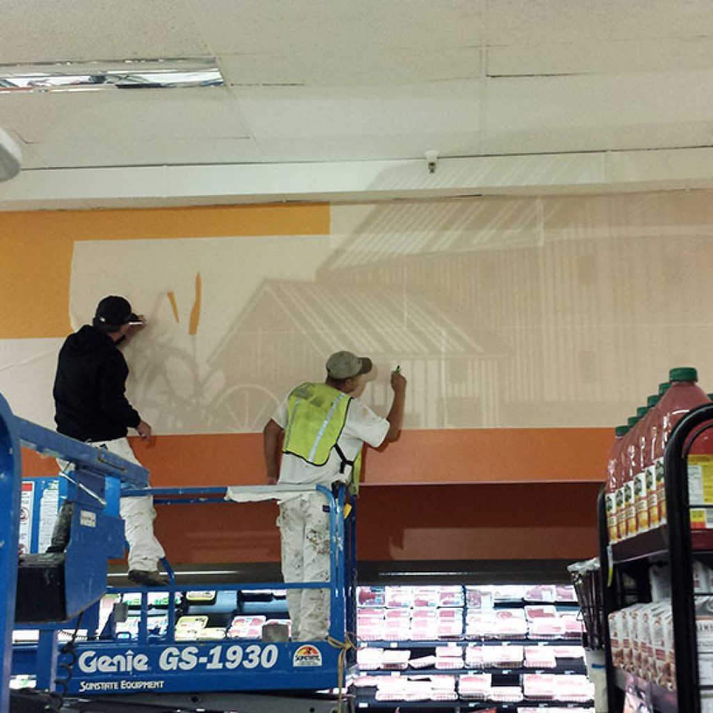 painting-grocery-store